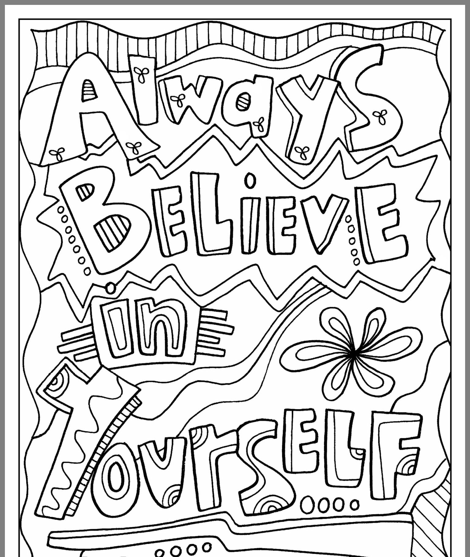 kids quote coloring pages quote coloring pages for adults and teens best coloring coloring quote kids pages
