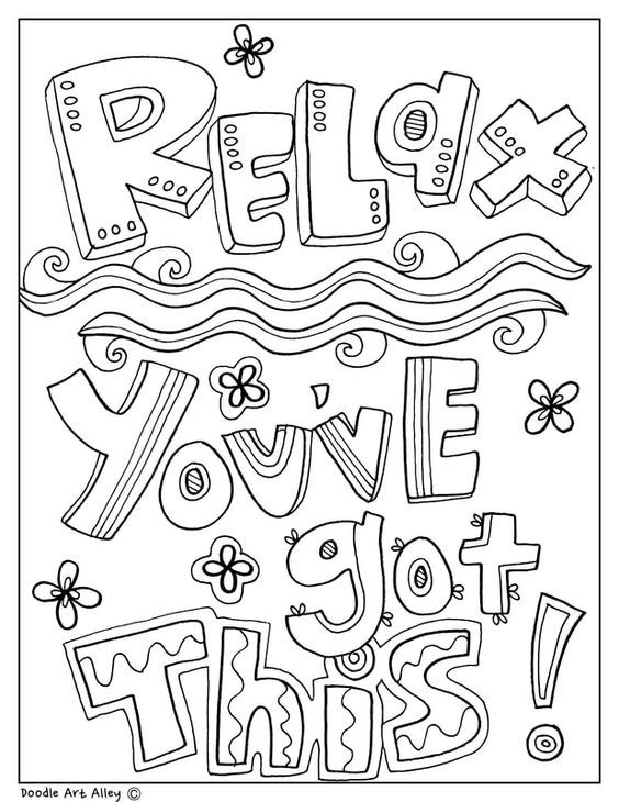 kids quote coloring pages quote coloring pages from doodle art alley quote pages coloring quote kids