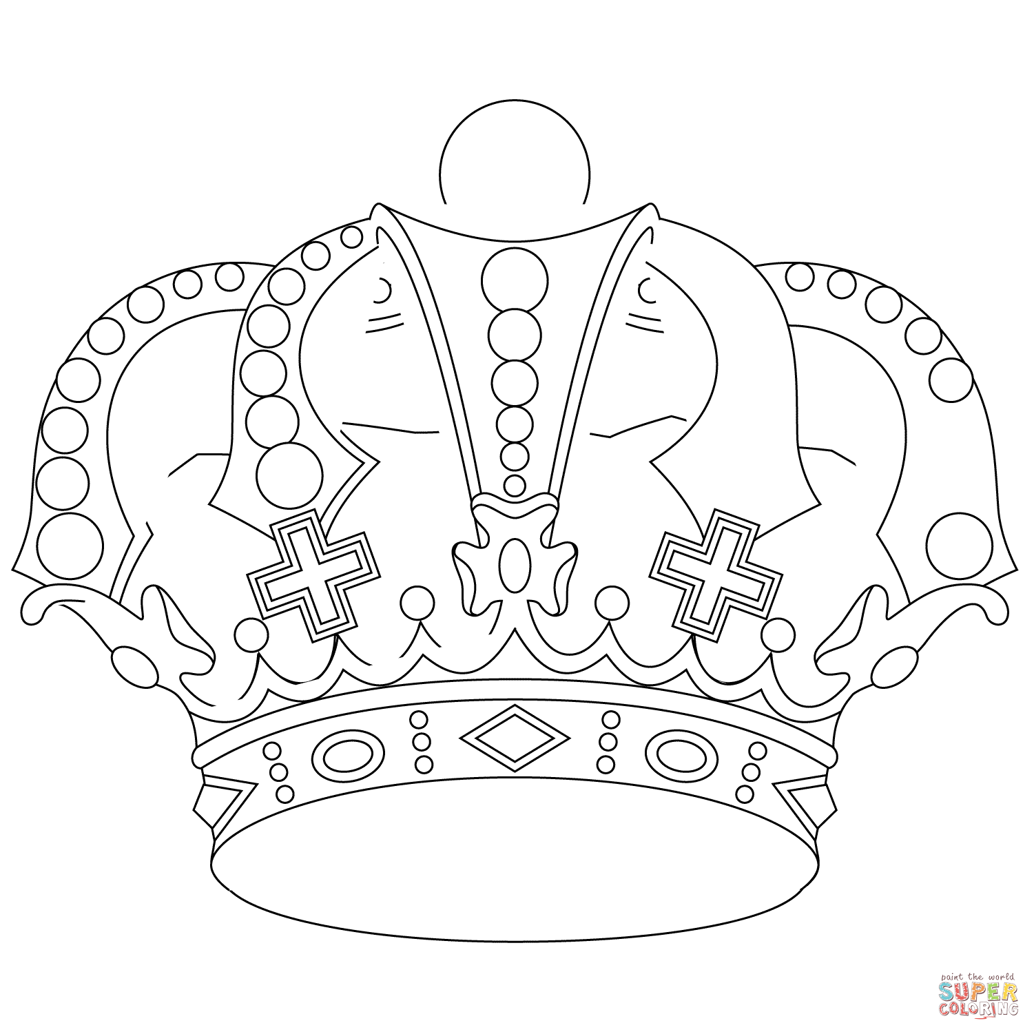 king crown coloring page crown coloring pages to print simple birthday princess king crown coloring page