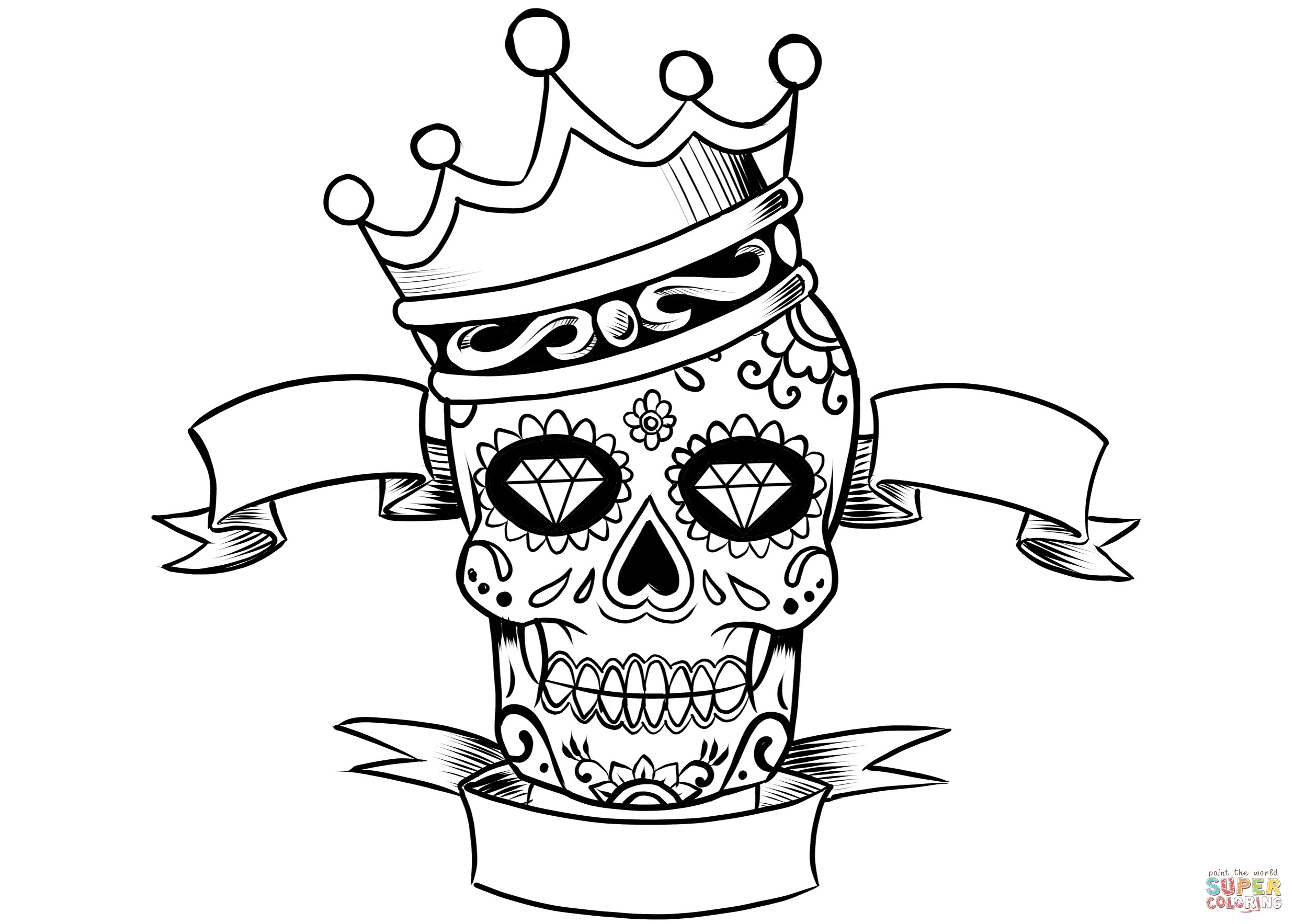 king crown coloring page purim coloring pages crown drawing crown tattoo design coloring king crown page