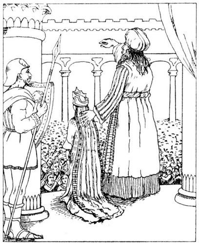 king joash coloring page 17 best images about sunday school joash on pinterest joash coloring king page