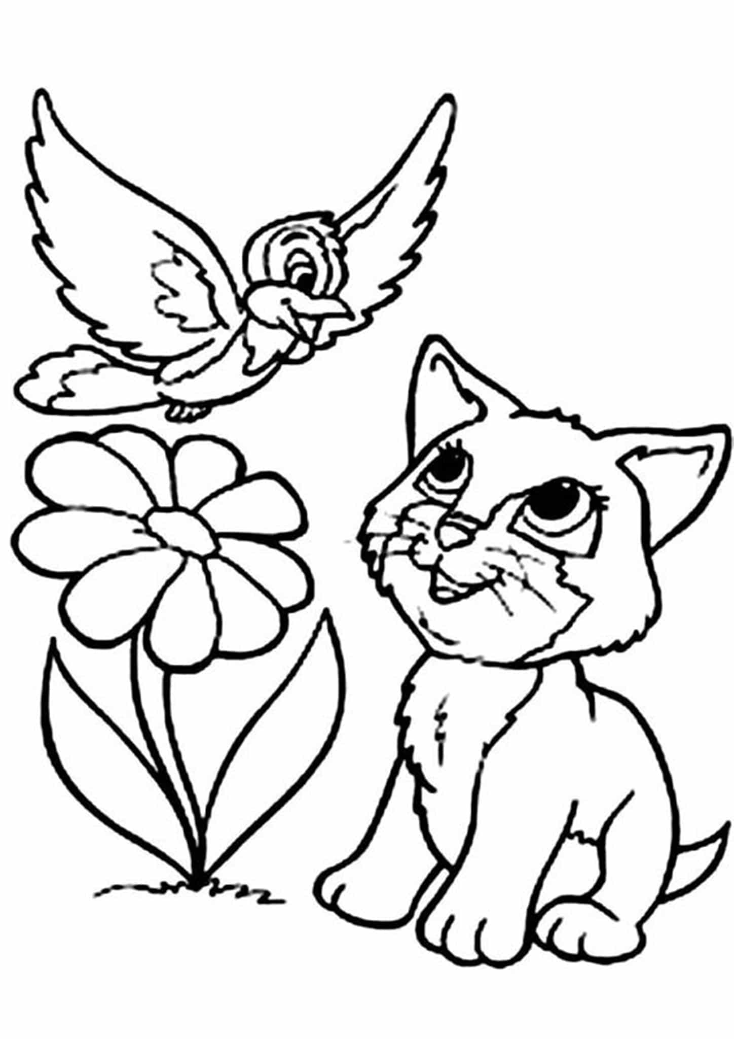 kitten coloring free printable kitten coloring pages for kids best kitten coloring