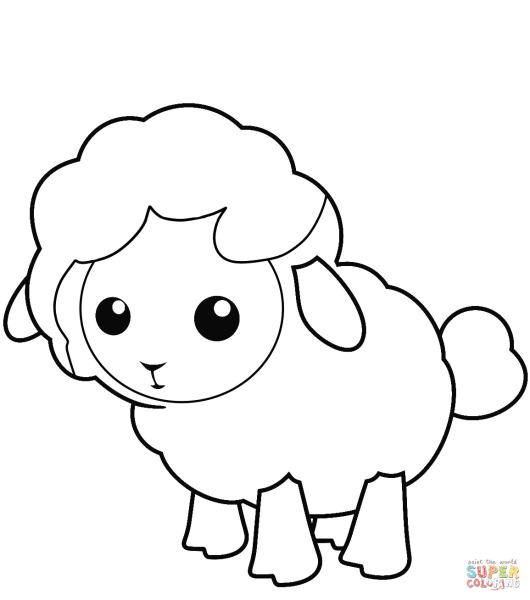 lamb pictures to colour free printable sheep coloring pages for kids colour pictures lamb to