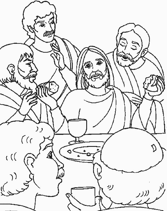 last supper coloring page 27 best images about the last supper workshop rotation last page coloring supper
