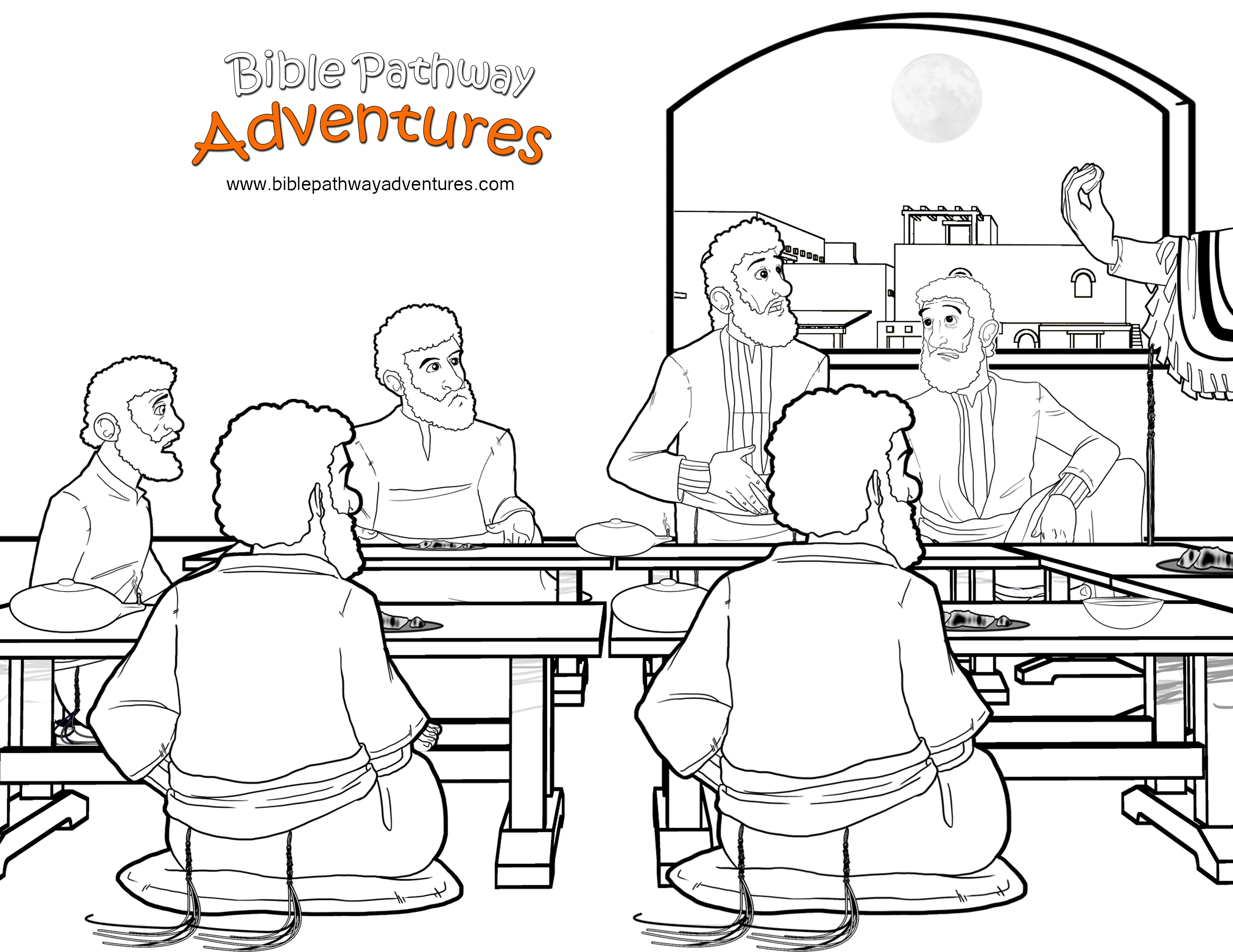 last supper coloring page jusus standing in the last supper coloring page kids page last supper coloring