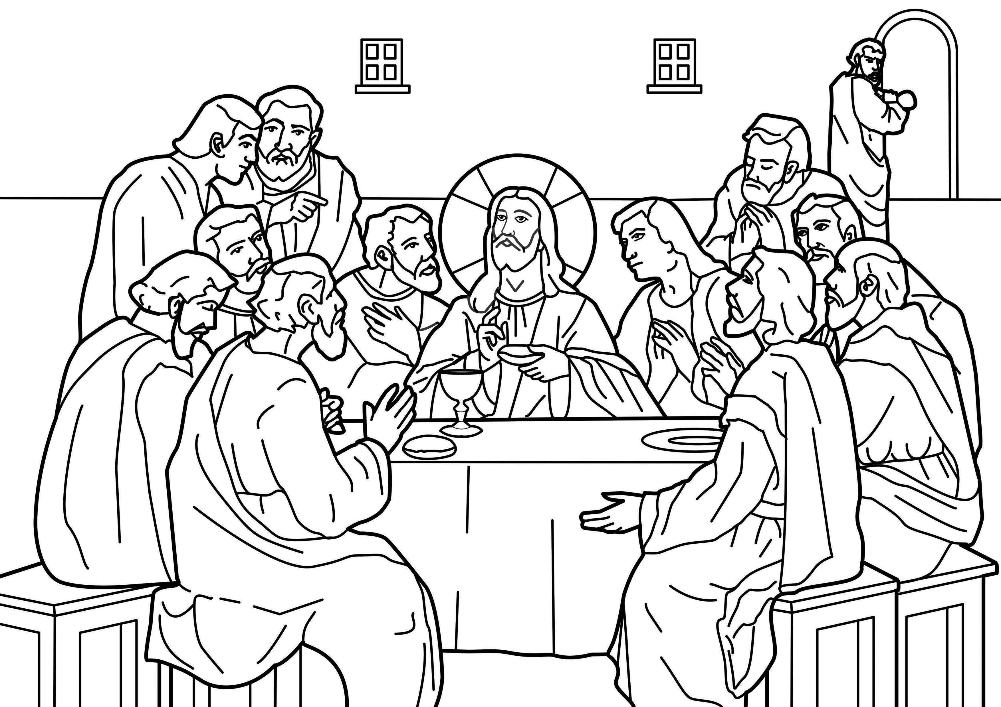 last supper coloring page last supper jesus in the last supper coloring page jesus last page coloring supper
