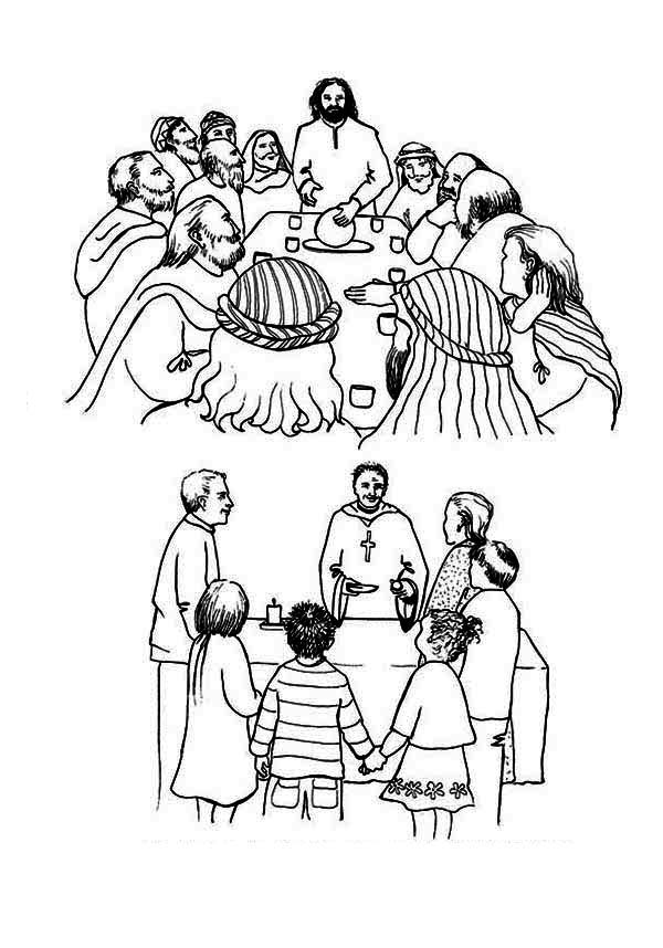 last supper coloring page lent coloring pages best coloring pages for kids supper coloring page last