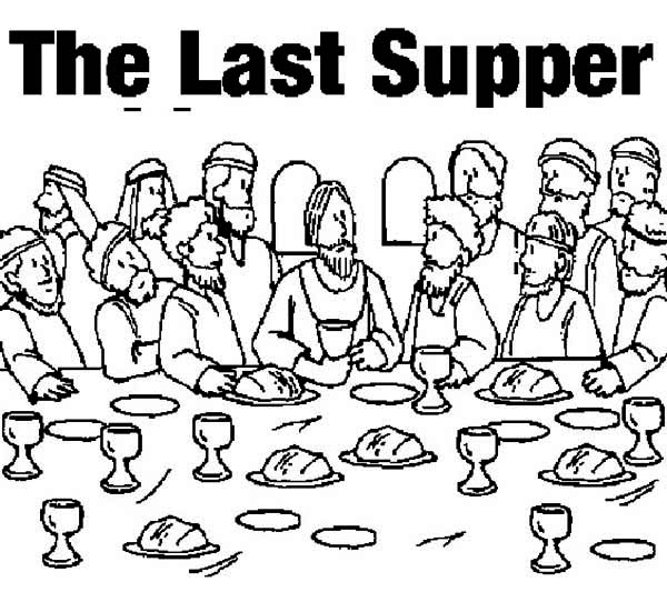 last supper coloring page picture of the last supper coloring page kids play color supper page last coloring