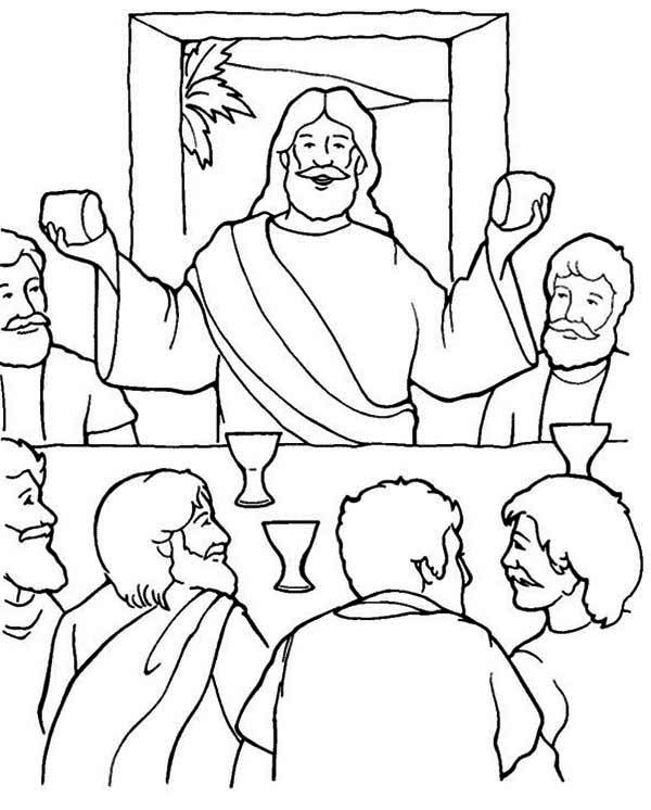 last supper coloring page the last supper coloring page coloring home coloring last supper page