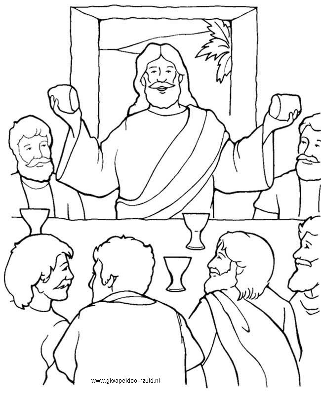 last supper coloring page the last supper coloring page kids play color coloring supper last page
