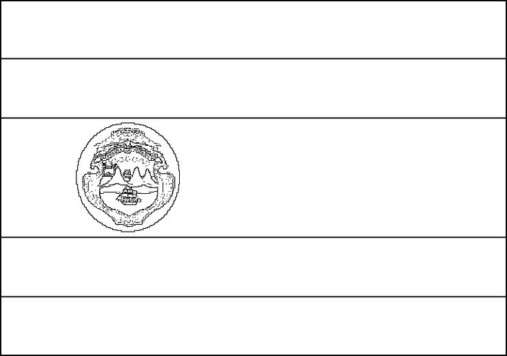 latin american flags costa rica flag coloring page for kids flag coloring latin flags american