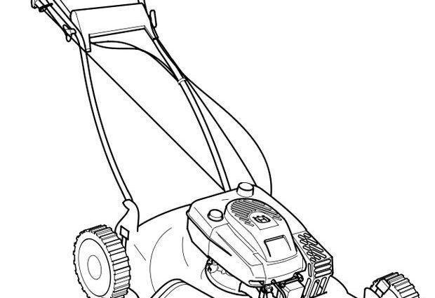 lawn mower coloring page coloring page lawn mower coloring picture lawn mower mower lawn page coloring