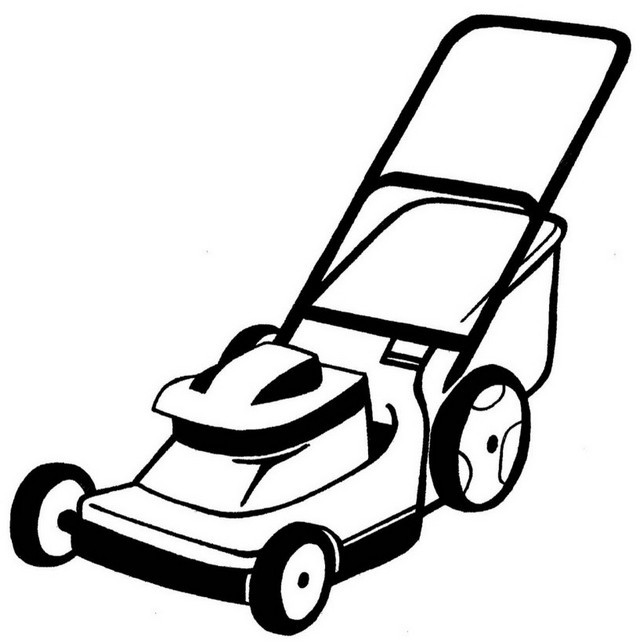 lawn mower coloring page lawn mower coloring book page coloring pages mower page coloring lawn
