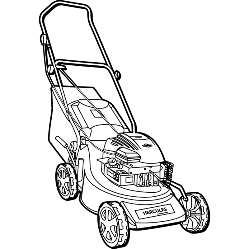 lawn mower coloring page lawn mower image clipartsco lawn mower coloring page