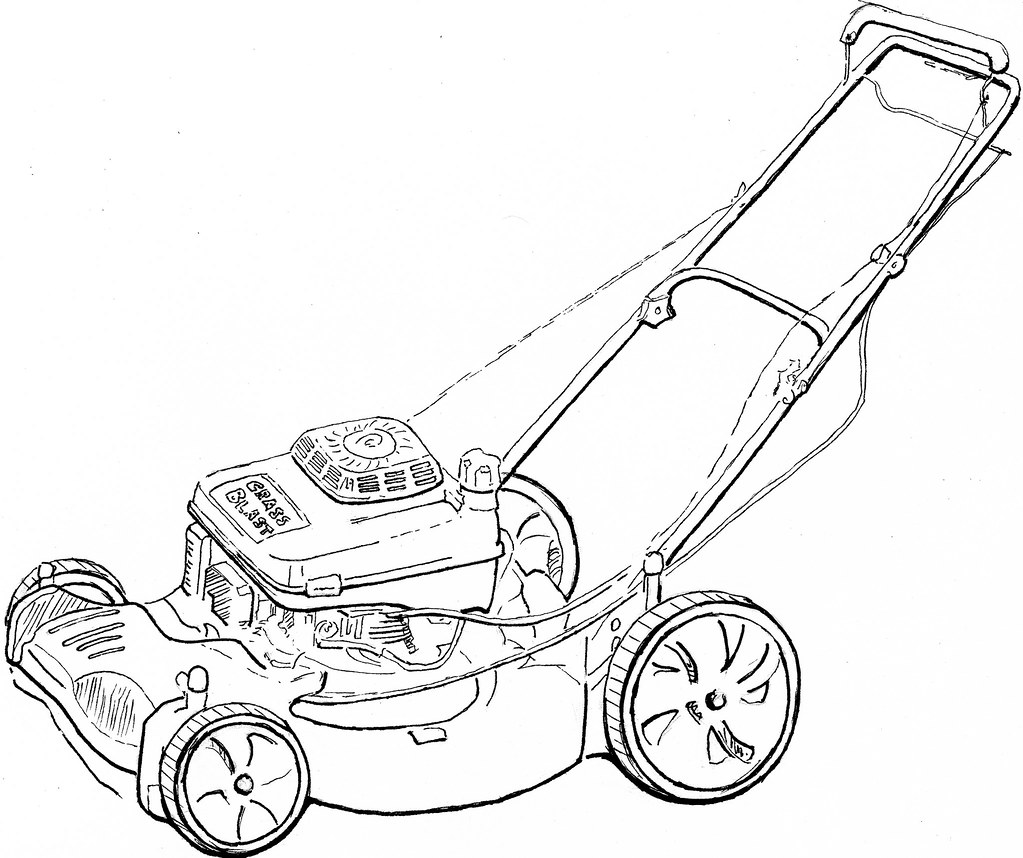lawn mower coloring page online coloring pages starting with the letter t page 4 mower lawn page coloring