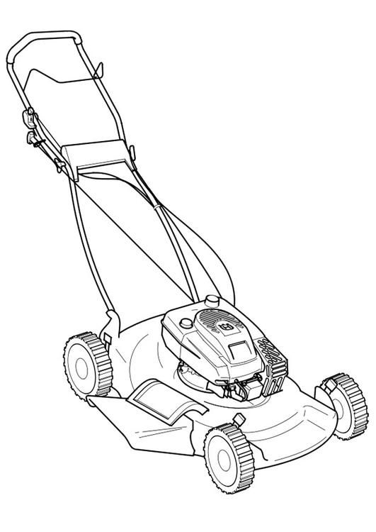 lawn mower coloring page zero turn lawn mower pages coloring pages page lawn coloring mower 1 1
