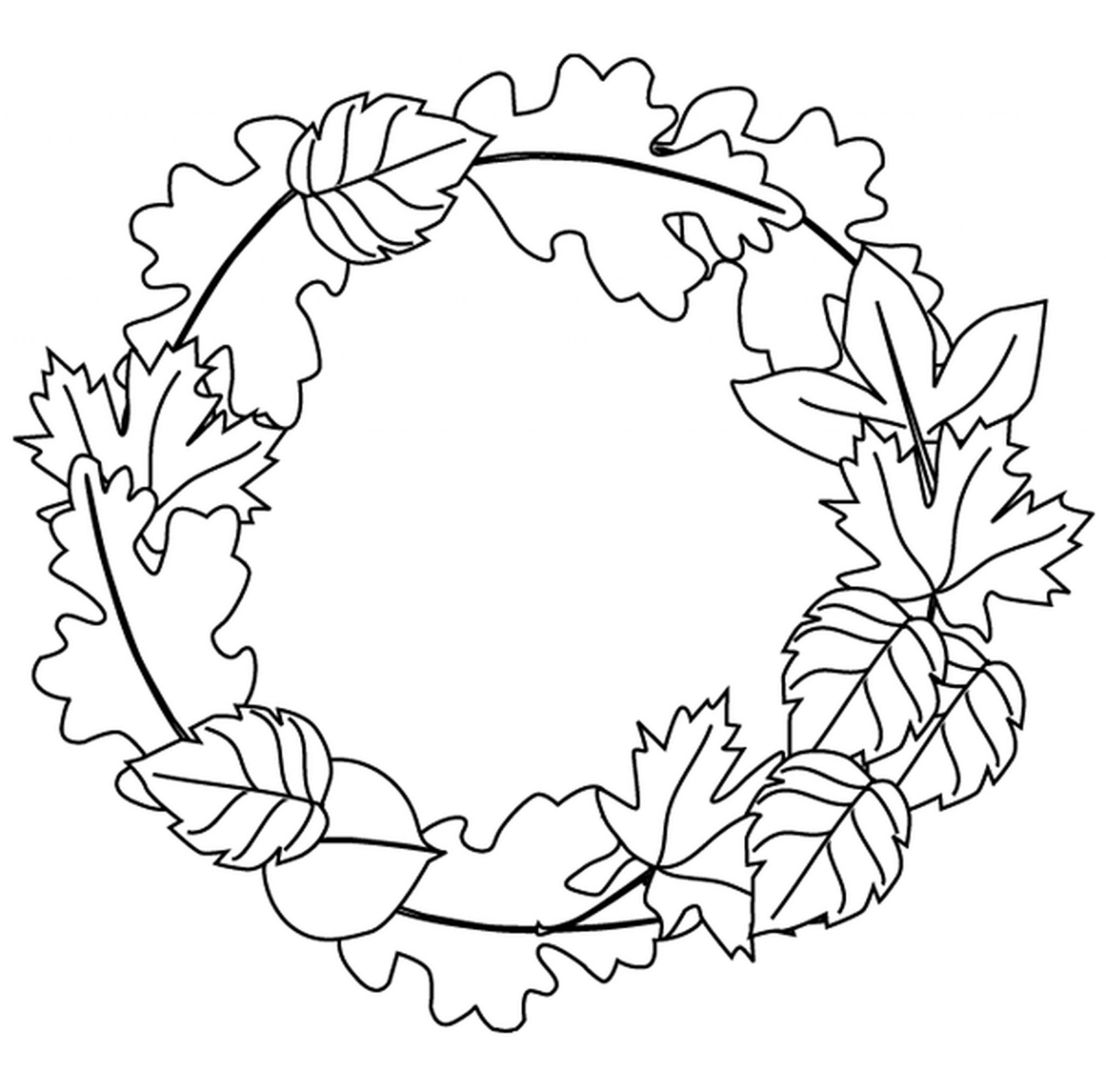 leaves to colour in leaves coloring pages printable coloring home colour to in leaves