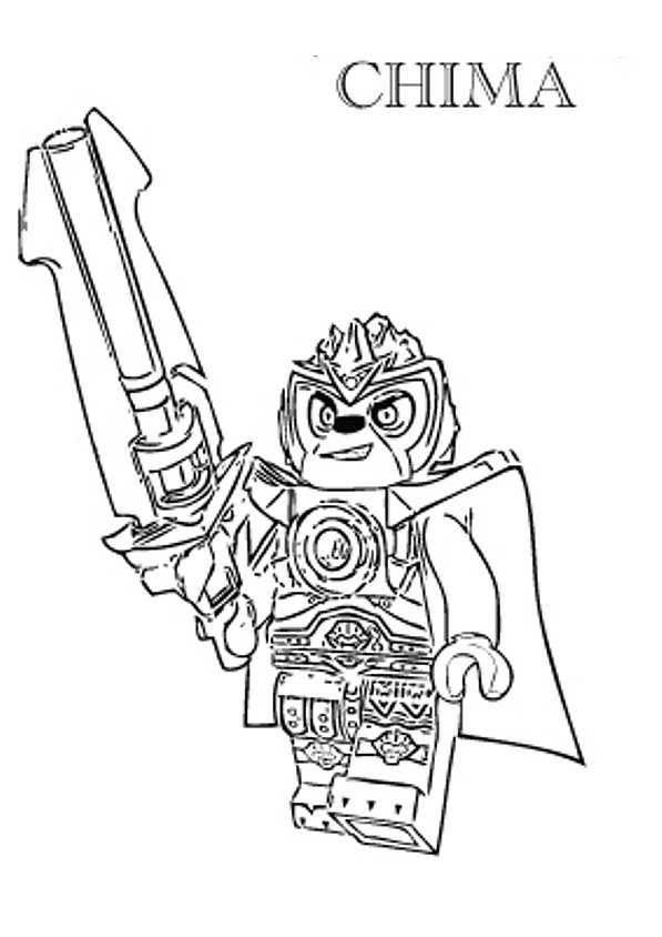 lego chima coloring page lego chima clipart black and white color clipground coloring chima page lego