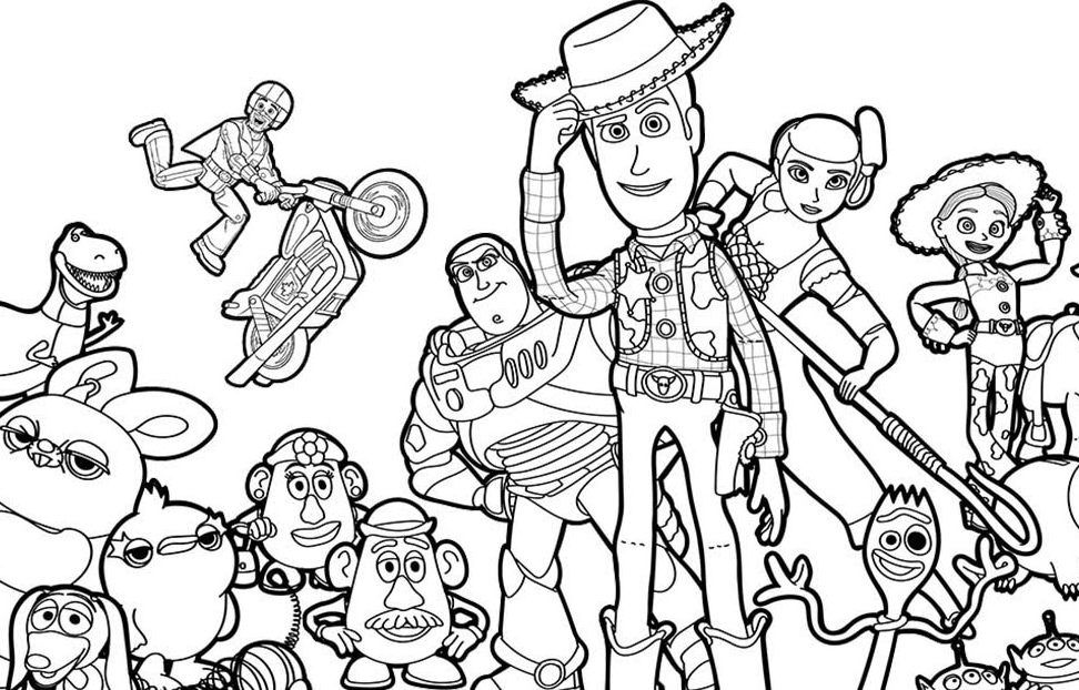 lego toy story 4 coloring pages 18 free printable toy story 4 coloring pages 1nza lego coloring toy pages 4 story
