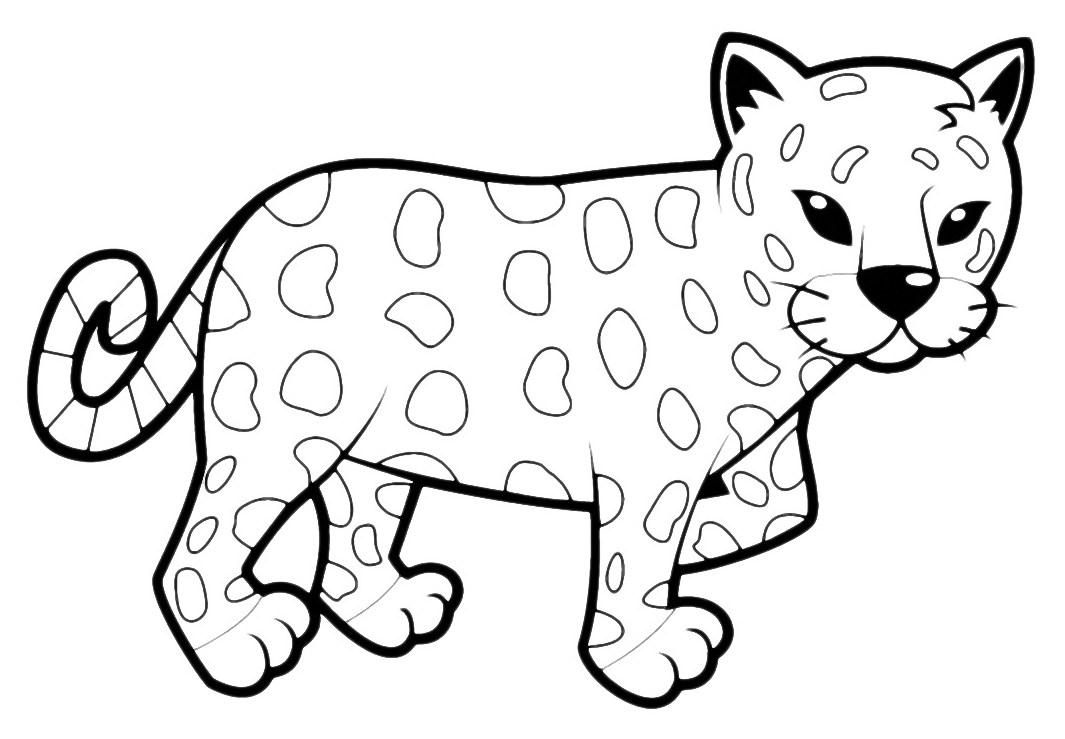 leopard outline leopard head drawing at getdrawings free download outline leopard