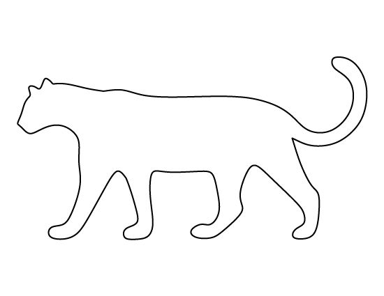 leopard outline leopard pattern use the printable outline for crafts leopard outline