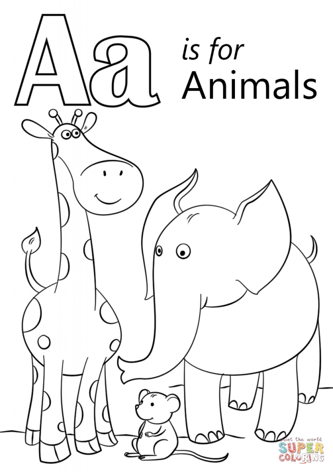 letter a coloring pages free free printable alphabet coloring pages for kids 123 kids coloring letter a pages free