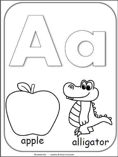 letter a coloring pages free letter a alphabet cards for display or coloring full letter coloring a free pages