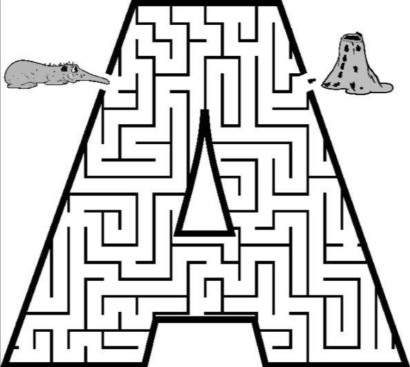 letter a coloring pages free printable coloring pages uppercase letters animals coloring free letter pages a