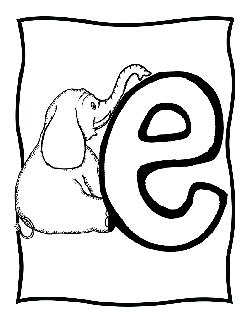 letter e coloring pages preschool e is for elephant coloring preschool letters learning e preschool pages letter coloring