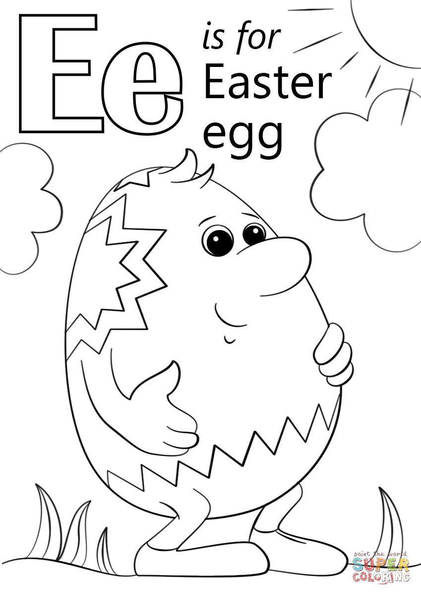 letter e coloring pages preschool letter e is for easter egg coloring page free printable coloring preschool e pages letter