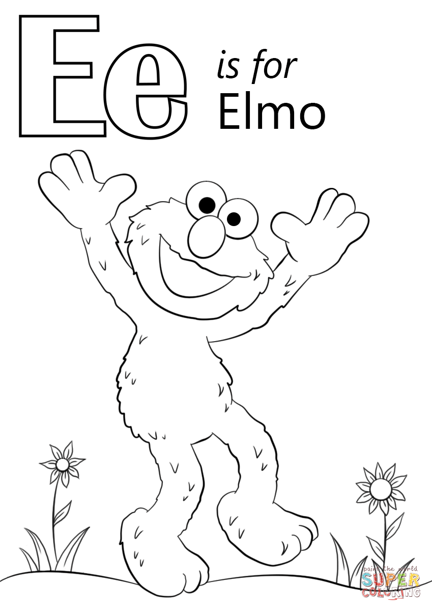 letter e coloring pages preschool letter e is for elmo coloring page free printable pages e letter coloring preschool