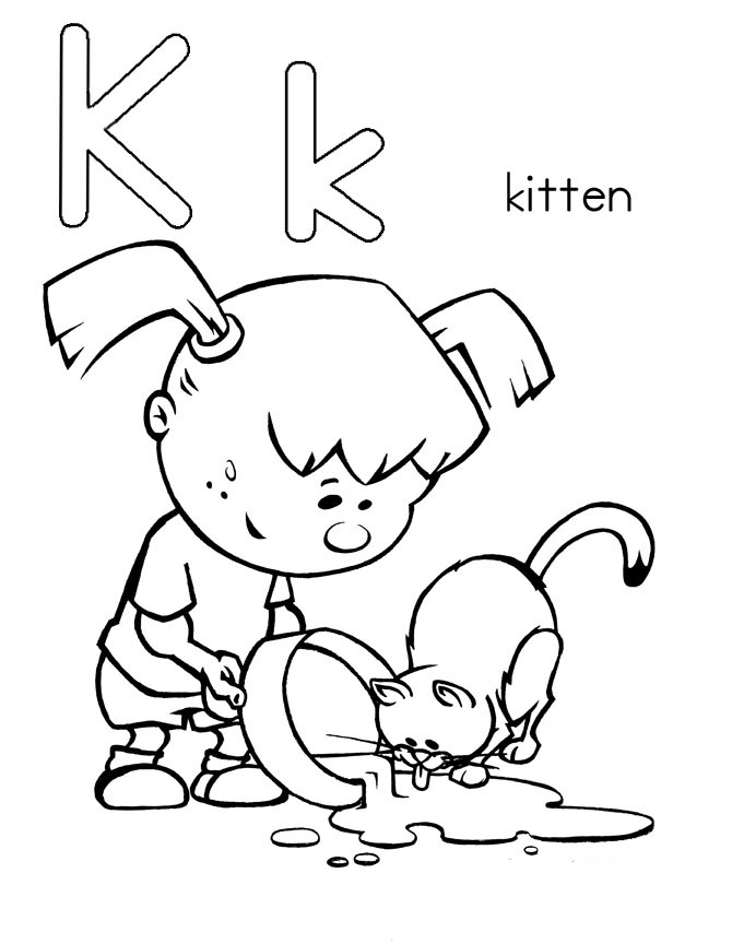letter k coloring page letter k coloring pages to download and print for free k coloring page letter
