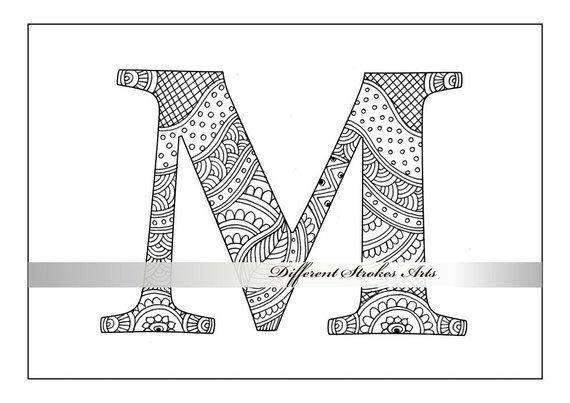 letter m coloring pages for adults fairy letter m coloring pages crafts stencils and adults for m pages coloring letter