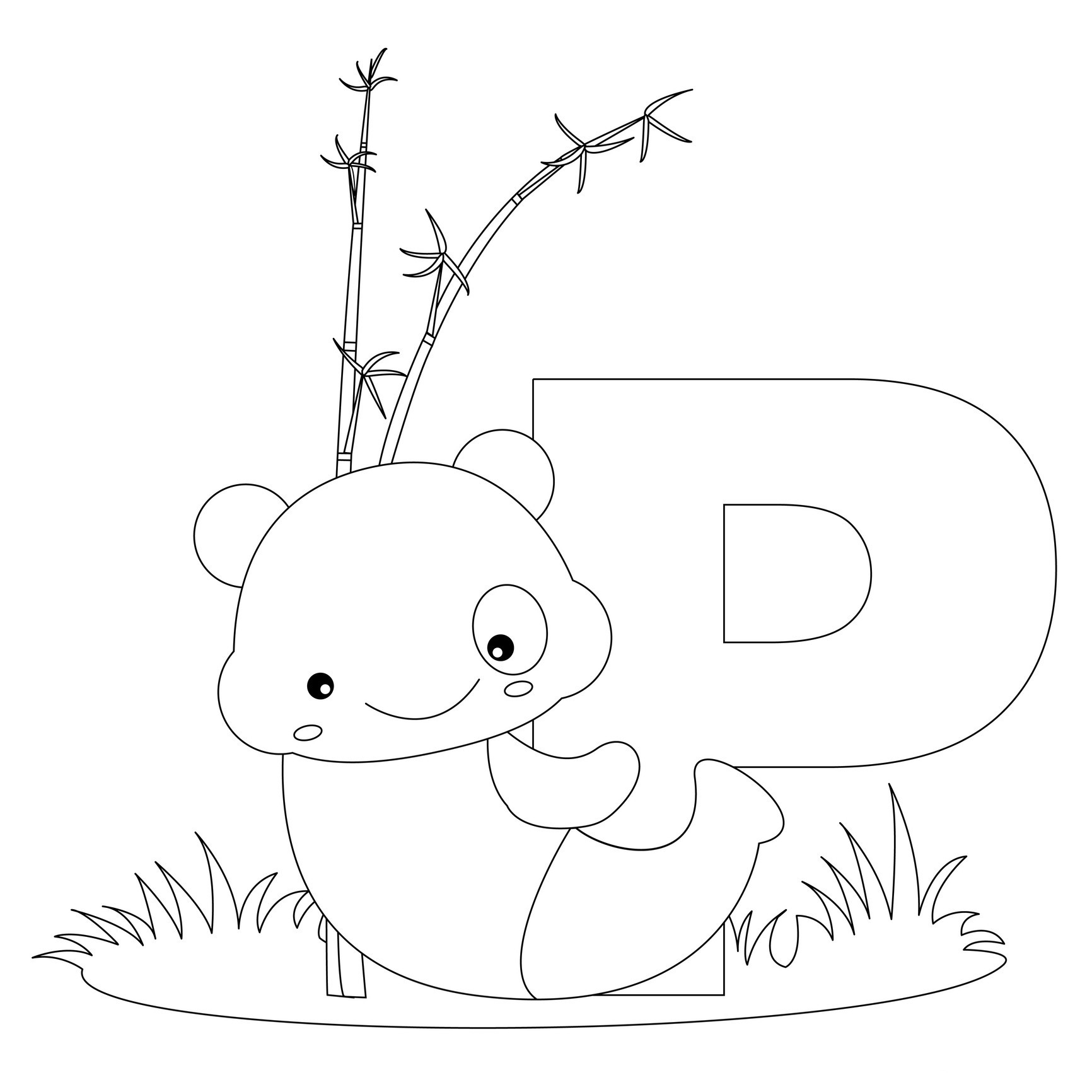 letter p coloring pictures free printable alphabet coloring pages for kids best coloring letter p pictures
