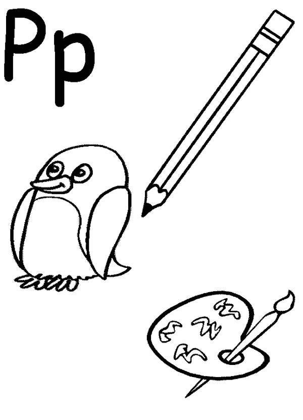 letter p coloring pictures letter p is for pizza coloring page letter p is for pizza p pictures coloring letter