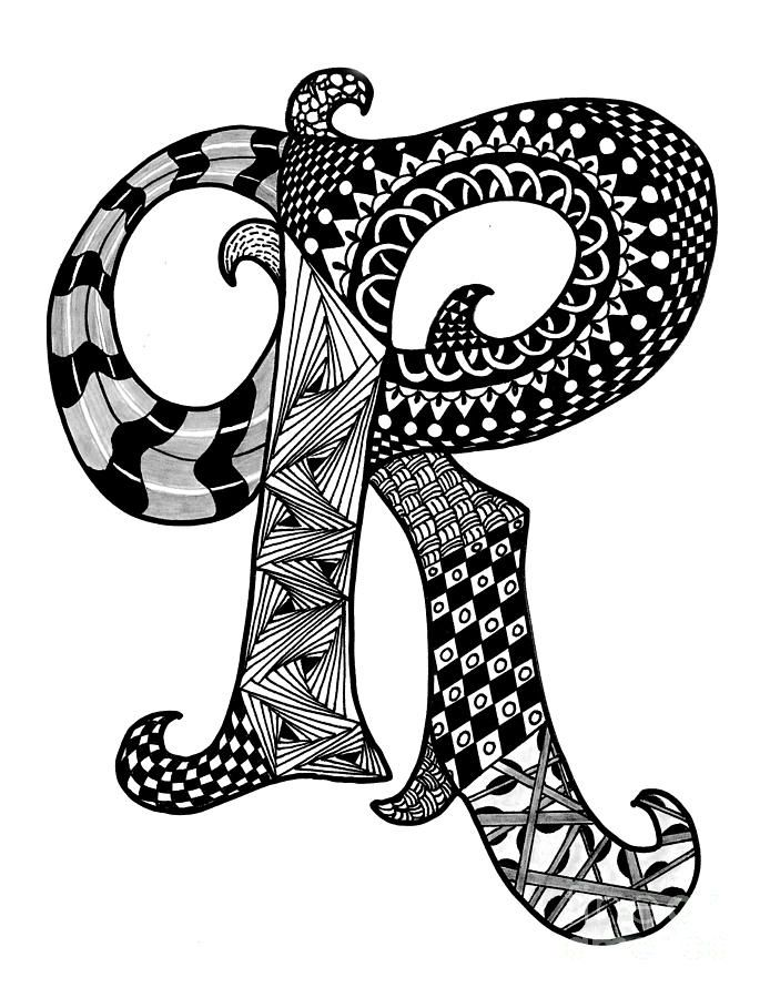 letter r coloring pages for adults adult colouring page alphabet letter quotrquot alphabet pages coloring r for adults letter