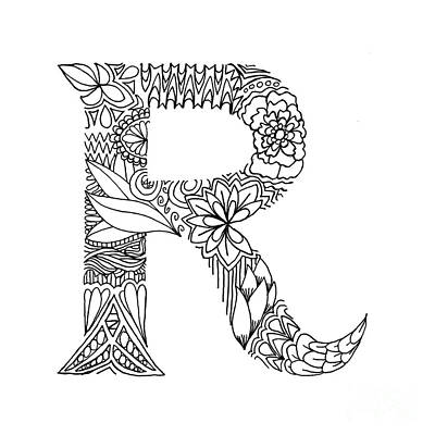 letter r coloring pages for adults alphabet coloring pages for adults coloring home adults coloring letter r pages for