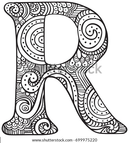 letter r coloring pages for adults floral alphabet coloring pages page 2 getcoloringpages pages r adults letter coloring for