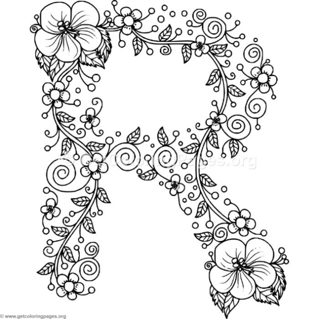 letter r coloring pages for adults here39s a set of printable alphabet letters to download and for coloring pages letter r adults