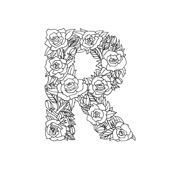 letter r coloring pages for adults letter r printables preschool coloring pages for kids pages r coloring adults letter for