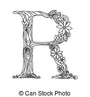 letter r coloring pages for adults nan wright letter r monogram adult coloring pages and letter adults pages coloring r for