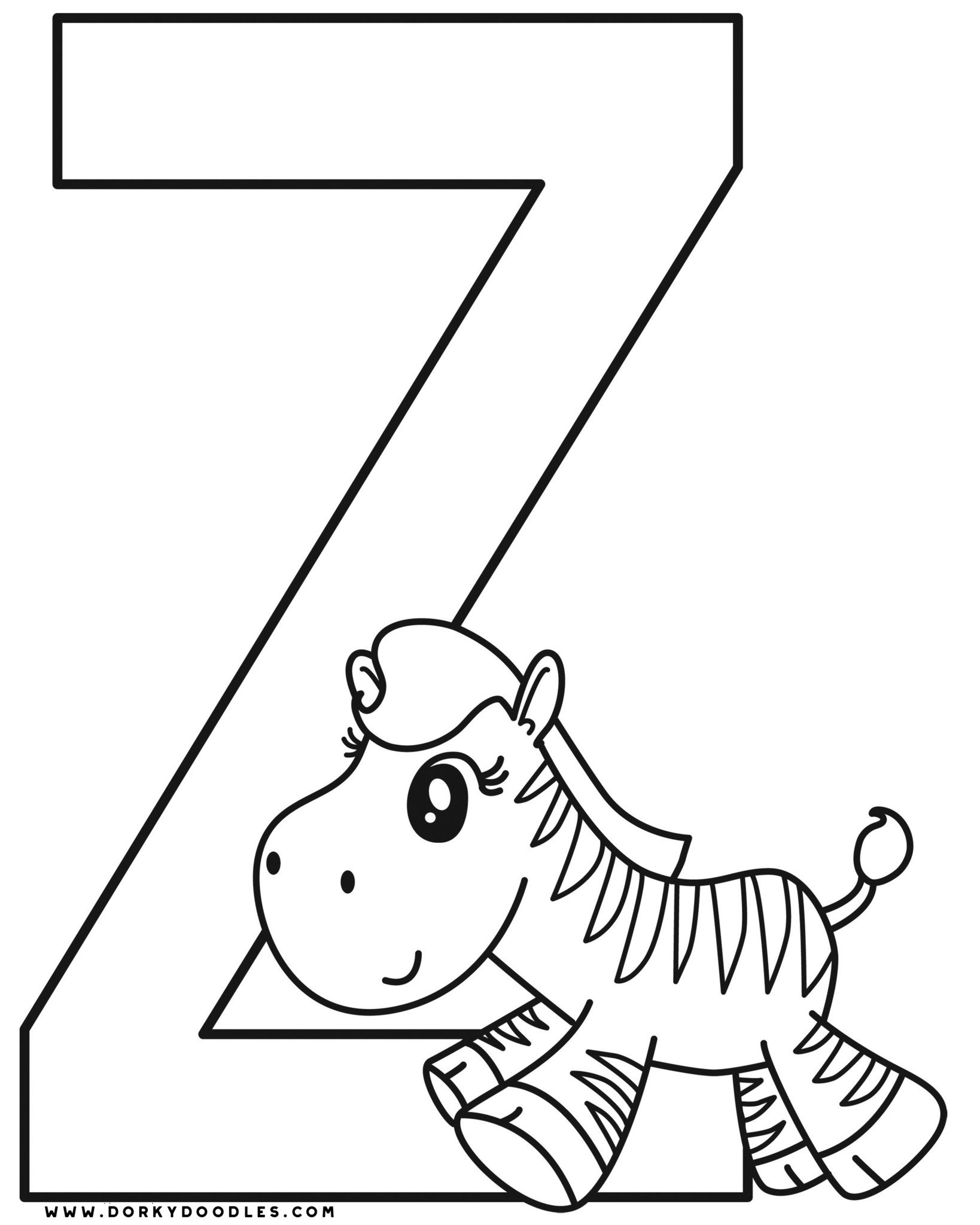 letter z coloring sheet z coloring pages getcoloringpagescom letter z coloring sheet