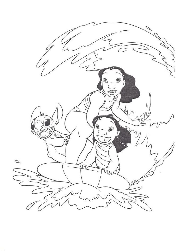 lilo and stitch coloring sheets cute lilo and stitch coloring pages printable drivecolor lilo and coloring stitch sheets