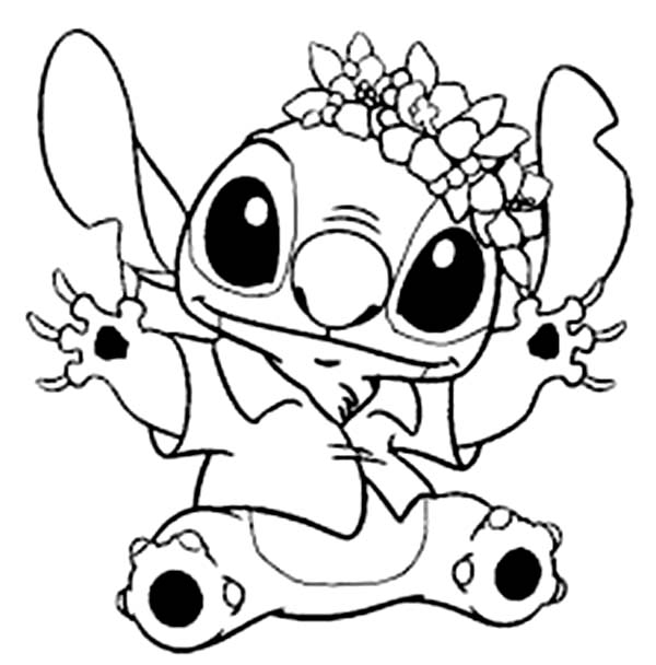 lilo and stitch coloring sheets stitch in hawaiian outfit in lilo stitch coloring page lilo sheets stitch coloring and