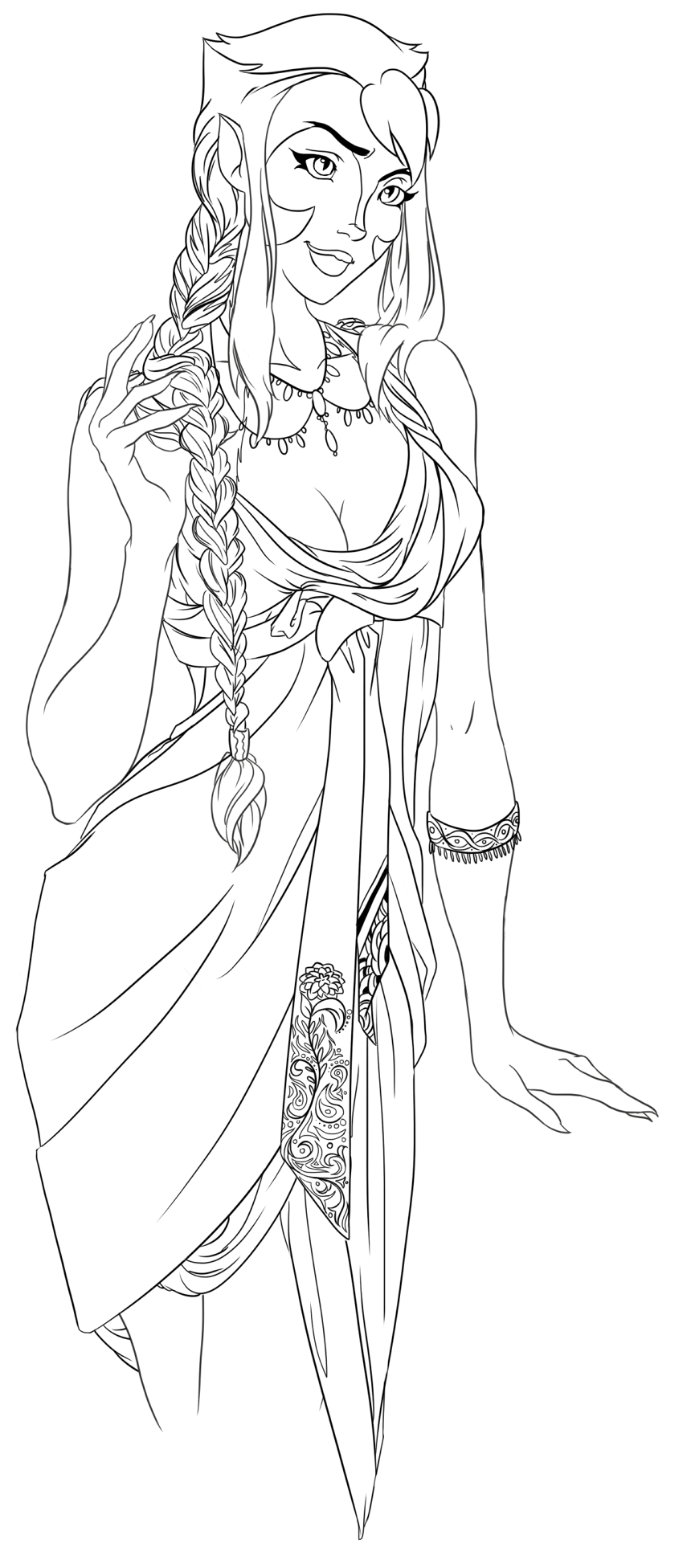 line art coloring pages scarlet witch line art by jaclynn pocchiari witch pages line art coloring