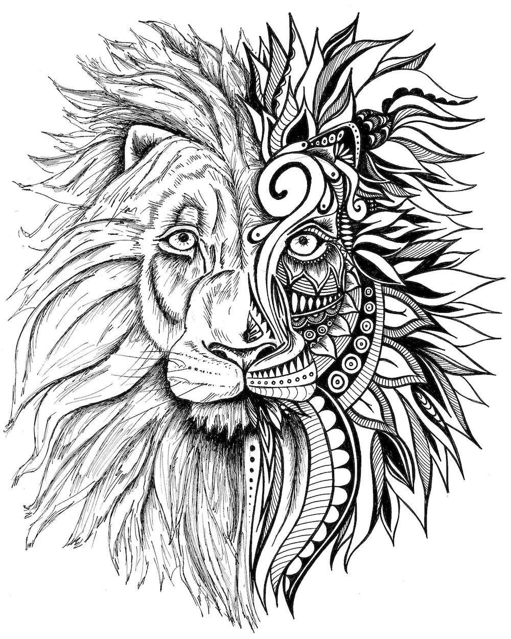 lion printable lion coloring pages coloring pages to print lion printable