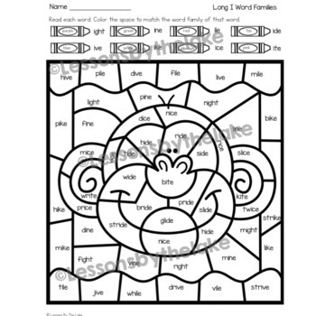 long vowel coloring worksheets color by long vowel team activities by a teachable teacher long coloring worksheets vowel