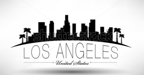 los angeles skyline outline los angeles skyline silhouette wall decal modern wall angeles skyline outline los