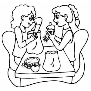 lunch food coloring pages 157 best images about food theme on pinterest coloring food lunch pages