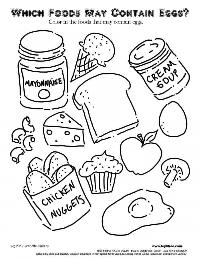 lunch food coloring pages food plate drawing at getdrawings free download coloring lunch pages food